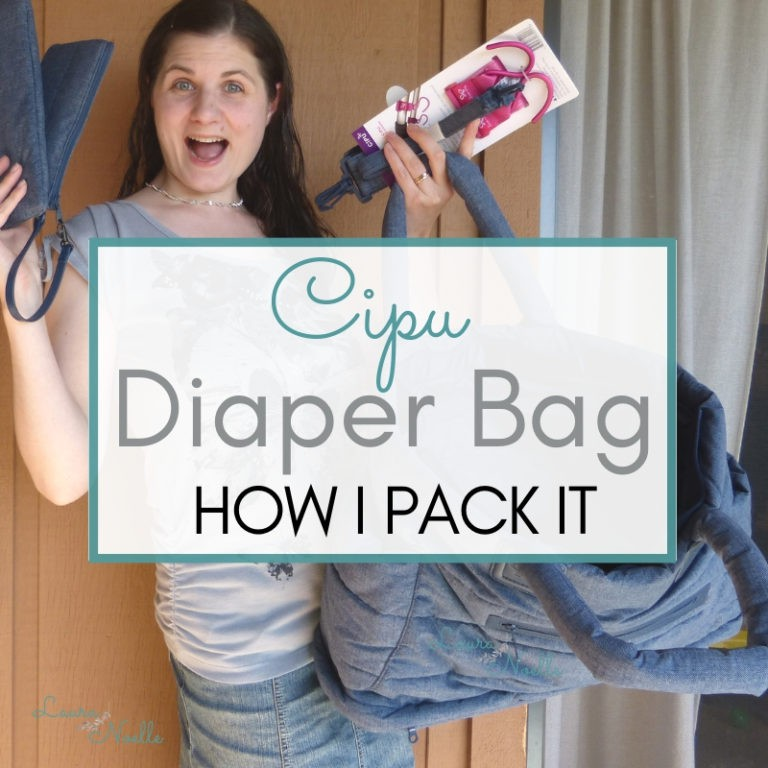 Comfy & Organized – How I Pack My CiPU Diaper Bag!