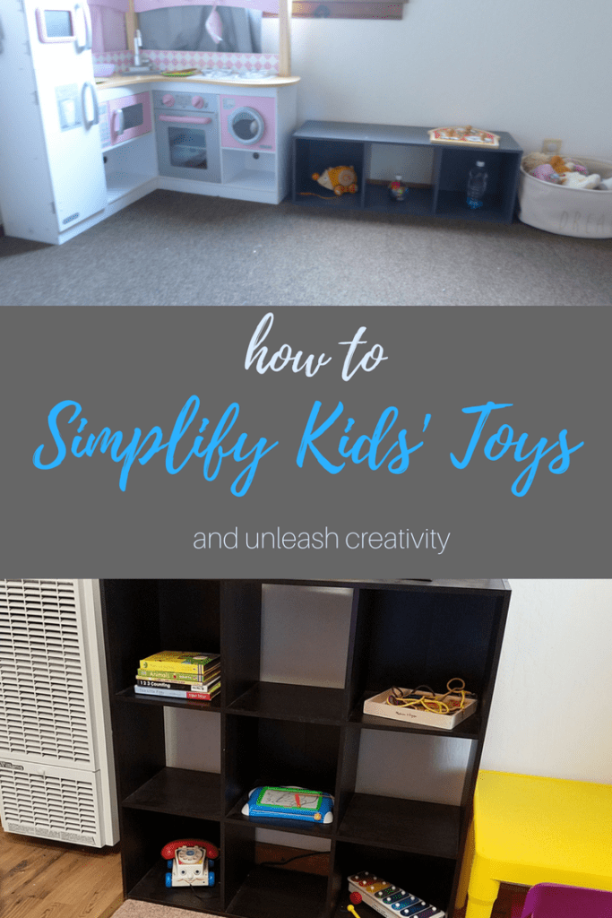 How to simplify toddler toys and unleash creativity