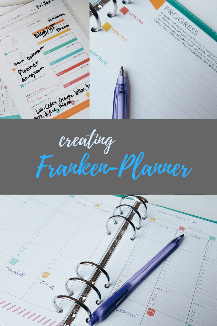 Creating a FrankenPlanner + a Peek at My Past Planner Failures