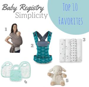 baby registry simplicity