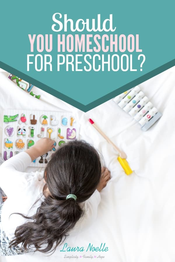 Considering homeschooling for preschool? Learn the top factors when considering preschool homeschooling that can help you decide! | parenting tips | motherhood | homeschooling | #homeschoolpreschool #preschool