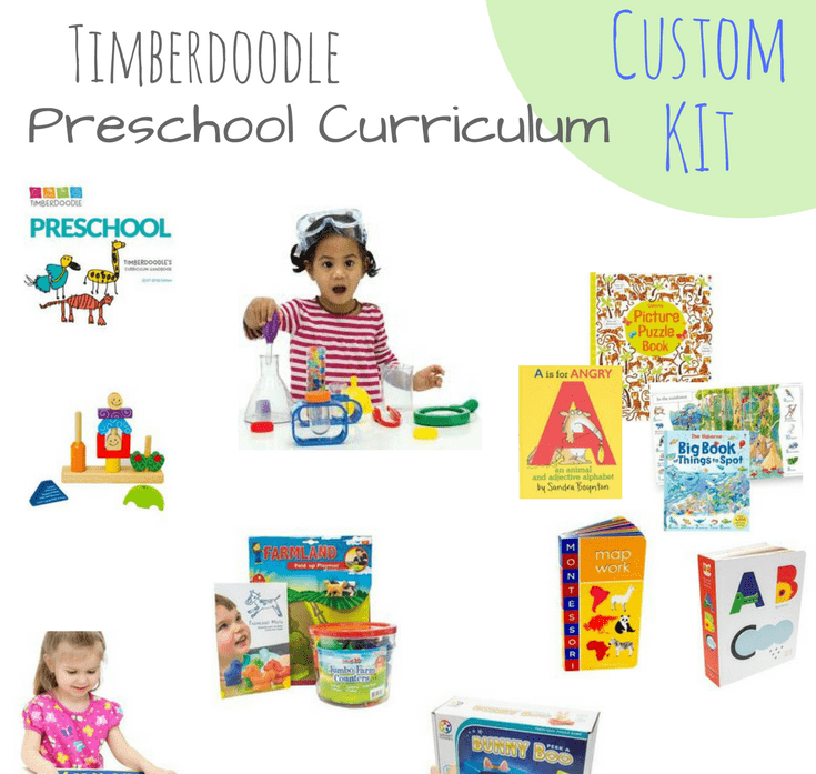 Timberdoodle Preschool Custom Curriculum Overview