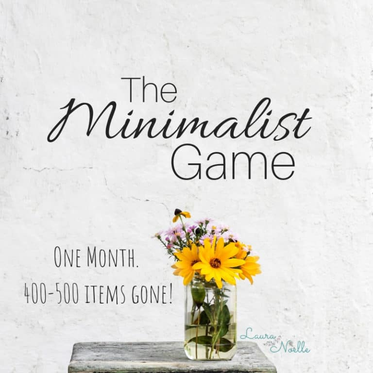 The Minimalist Game – Week Two