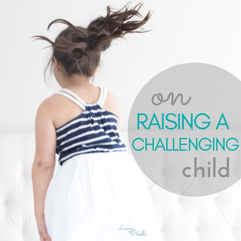 Raising a Challenging Child (aka my carbon copy)