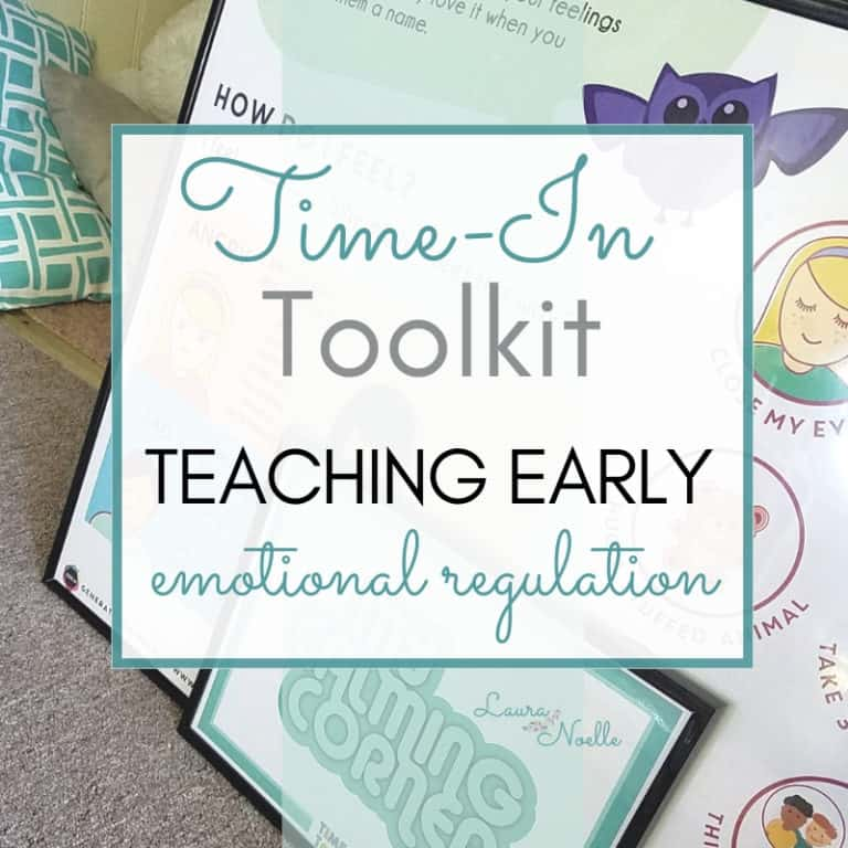 Using the Time-In Toolkit: Teaching Emotional Regulation to Kids