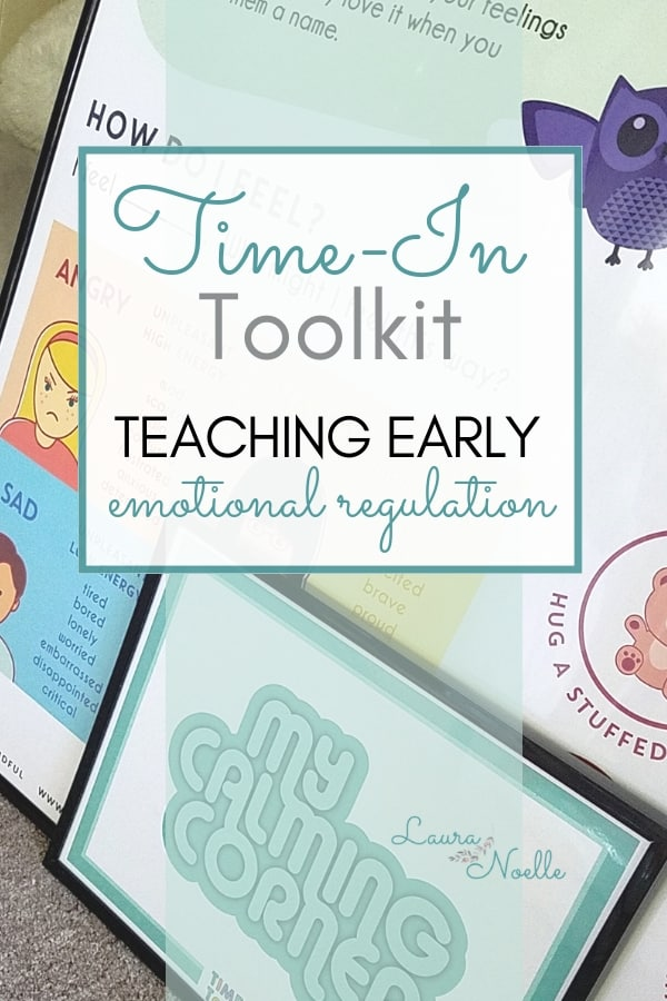 The Time-In Toolkit provides visuals, activities and encouragement to help children calm down and regulate emotions.