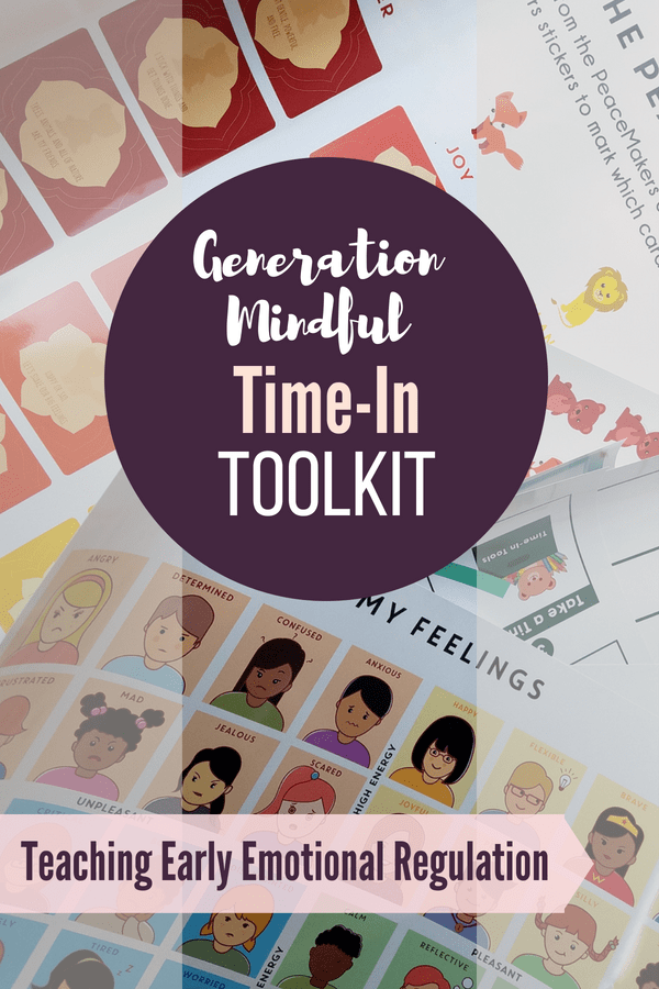 Early childhood has big emotions and teaching emotional regulation is a skill! The Time-In Toolkit provides visuals, activities and encouragement to help children calm down and regulate emotions.