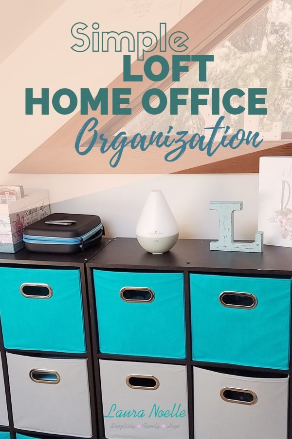 A simple home office can be inspiring and effective--here are some organization ideas!