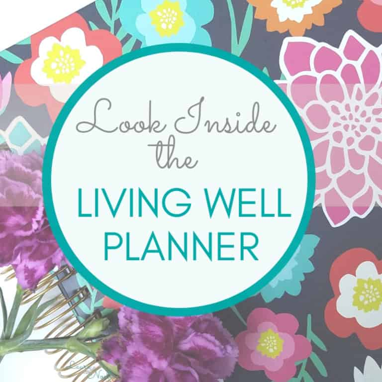 Look Inside the New Living Well Planner (Picture Comparison to the Old Version!)