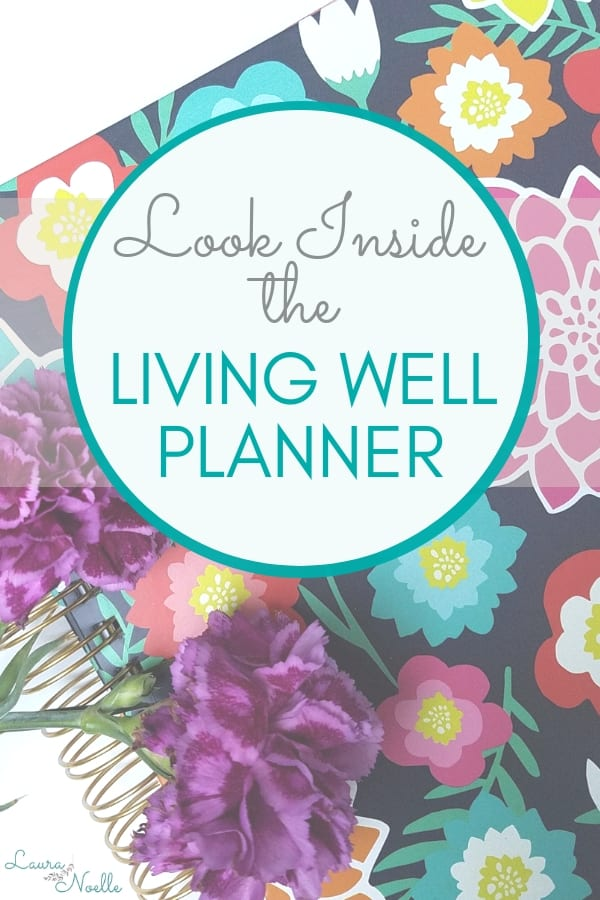 Crush your goals and get your life in order with the Living Well Planner | mom must-have | organize your life | #planner #lifeplanner #businessplanner #goalplanner #mompreneur