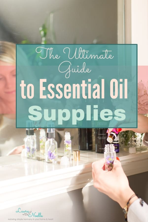 guide to essential oil supplies