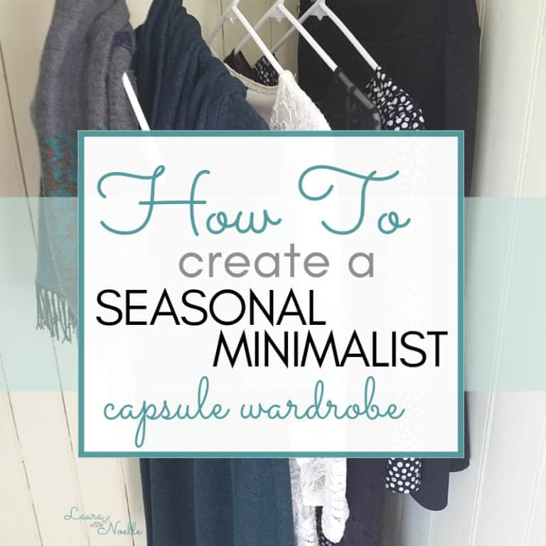 How to Create a Seasonal Minimalist Capsule Wardrobe