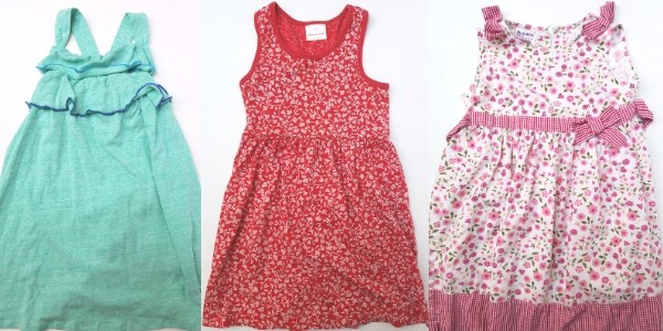 three capsule dresses