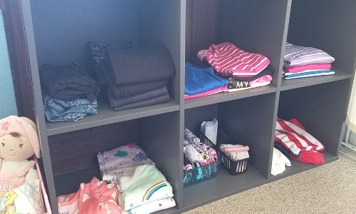 6 cube organizer clothes storage