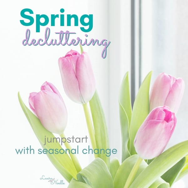Spring Decluttering || Using the Seasons to Jumpstart Minimizing Success