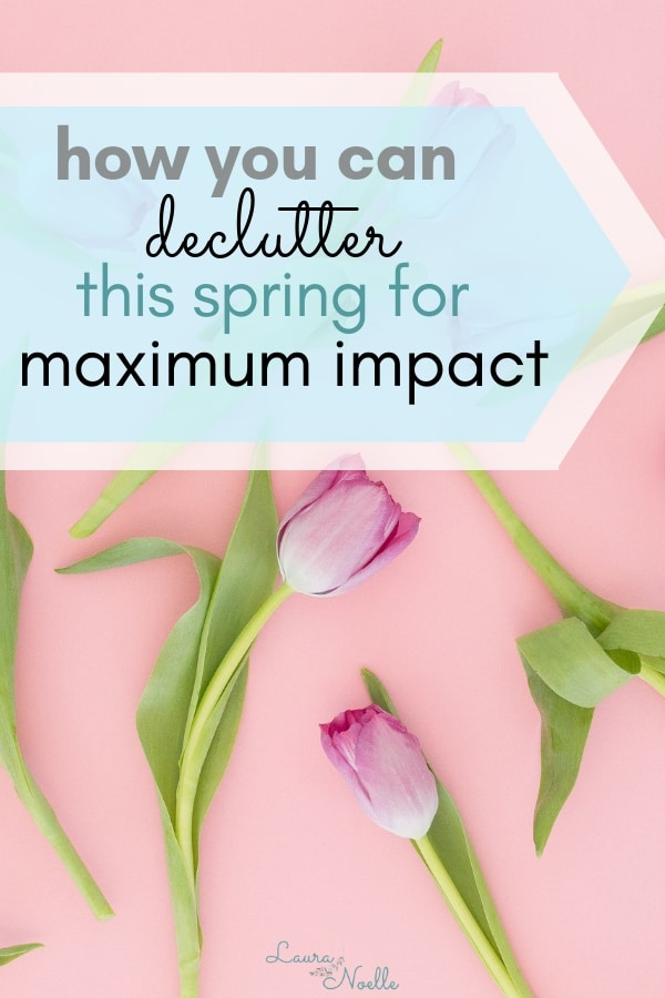 how you can declutter this spring for maximum impact