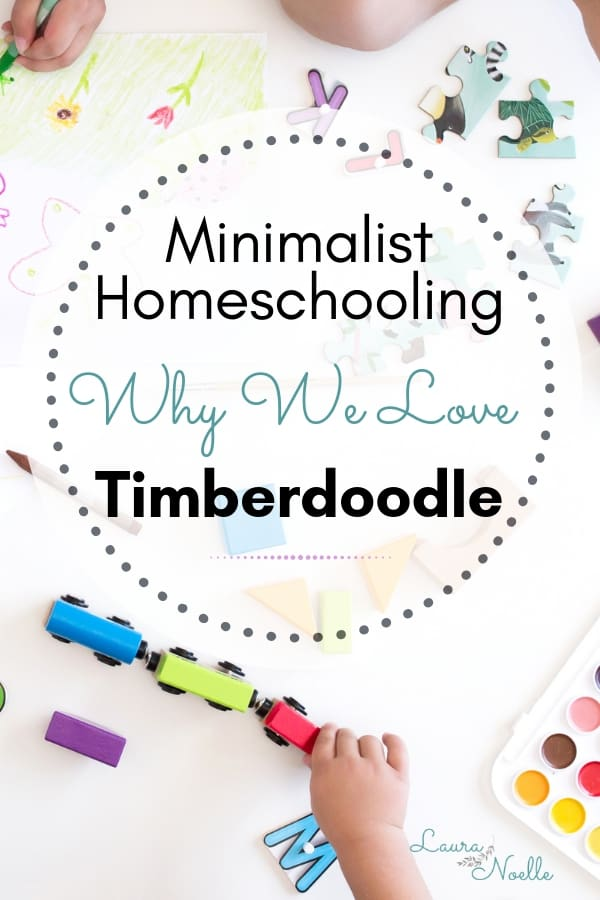 minimalist homeschooling why we love timberdoodle