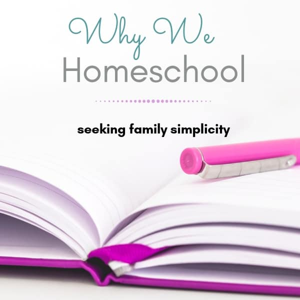 Why We Homeschool || Family Simplicity in a Fast-Paced World