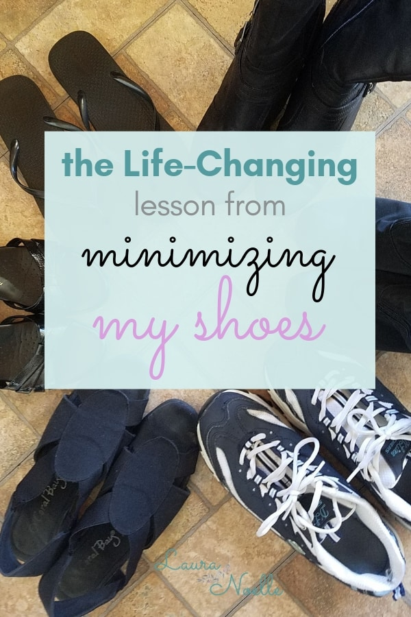 the life-changing lesson from minimizing my shoes