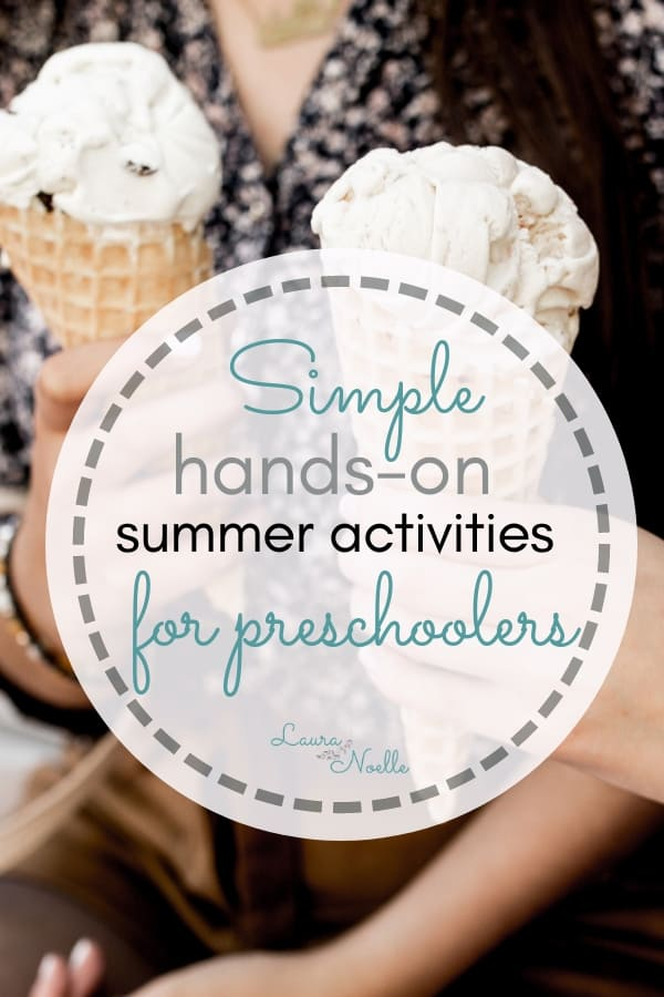 simple hands on summer activities