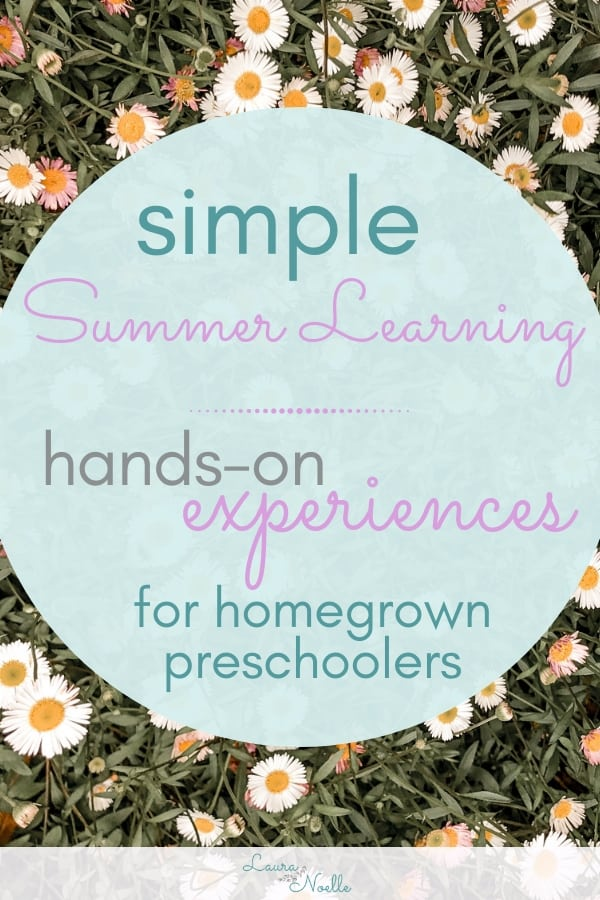 simple summer learning