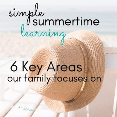 simple summertime learning