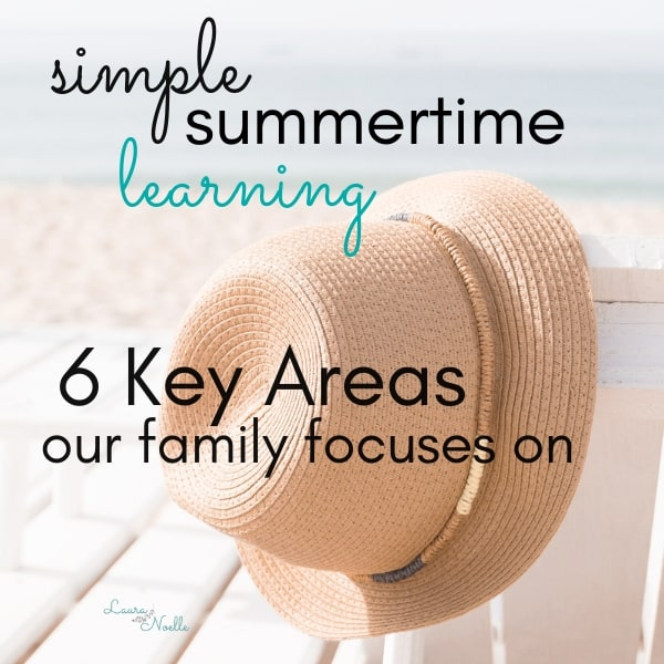 Simple Summer Learning || Hands-On Experiences for Homegrown Preschoolers