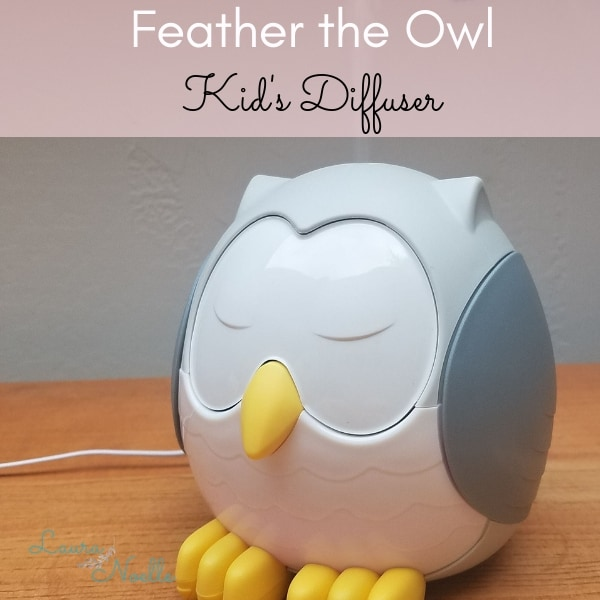 Feather the Owl Kid's Diffuser by Young Living || Demo & Review