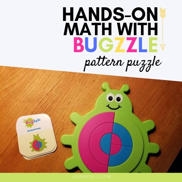 Bugzzle Pattern Puzzle Review || Math Concepts to Grow With