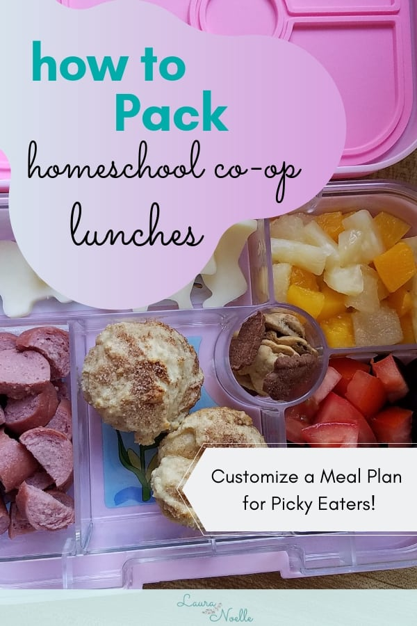 how to pack homeschool lunches