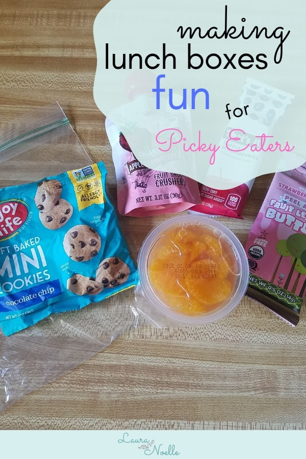 making lunches fun for picky eaters