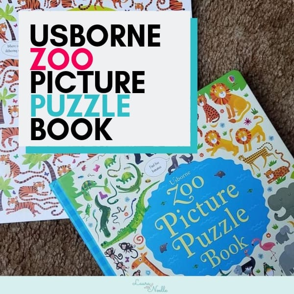 Zoo Picture Puzzle Book Review || Visual Learning with Search & Find