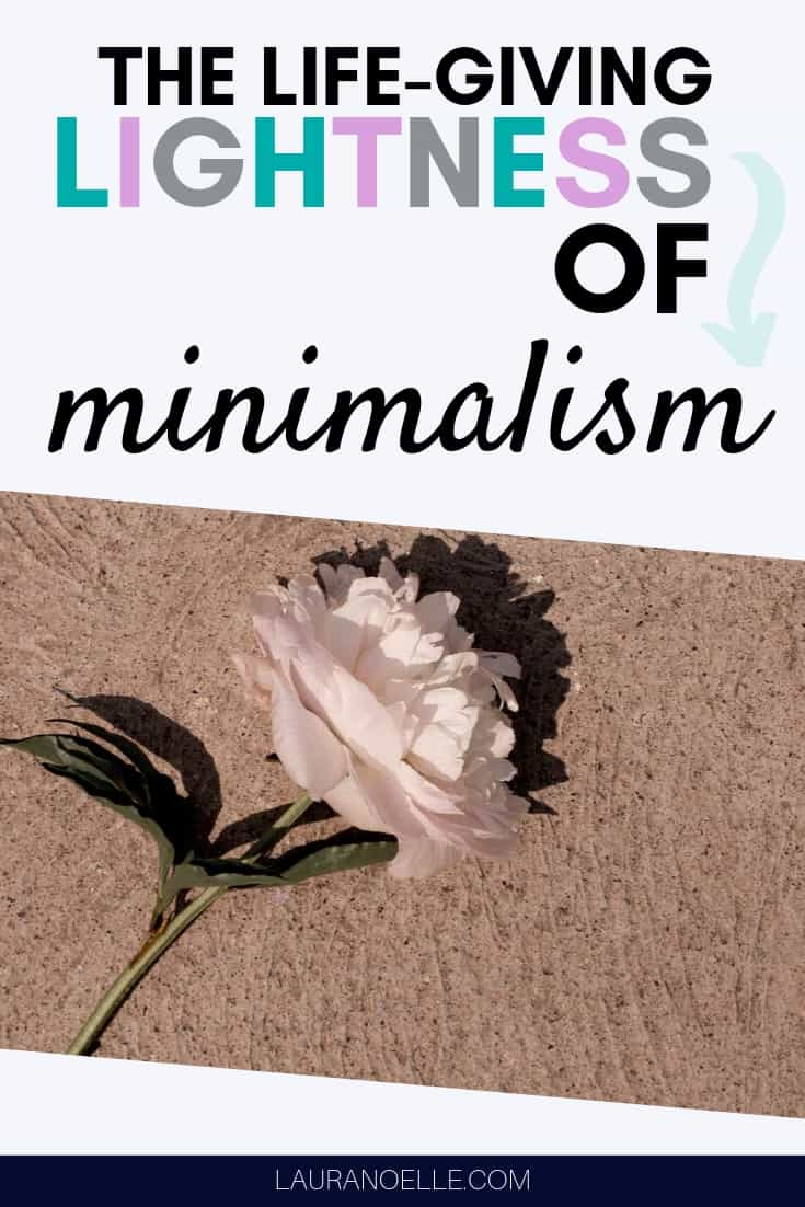 The lightness of minimalism