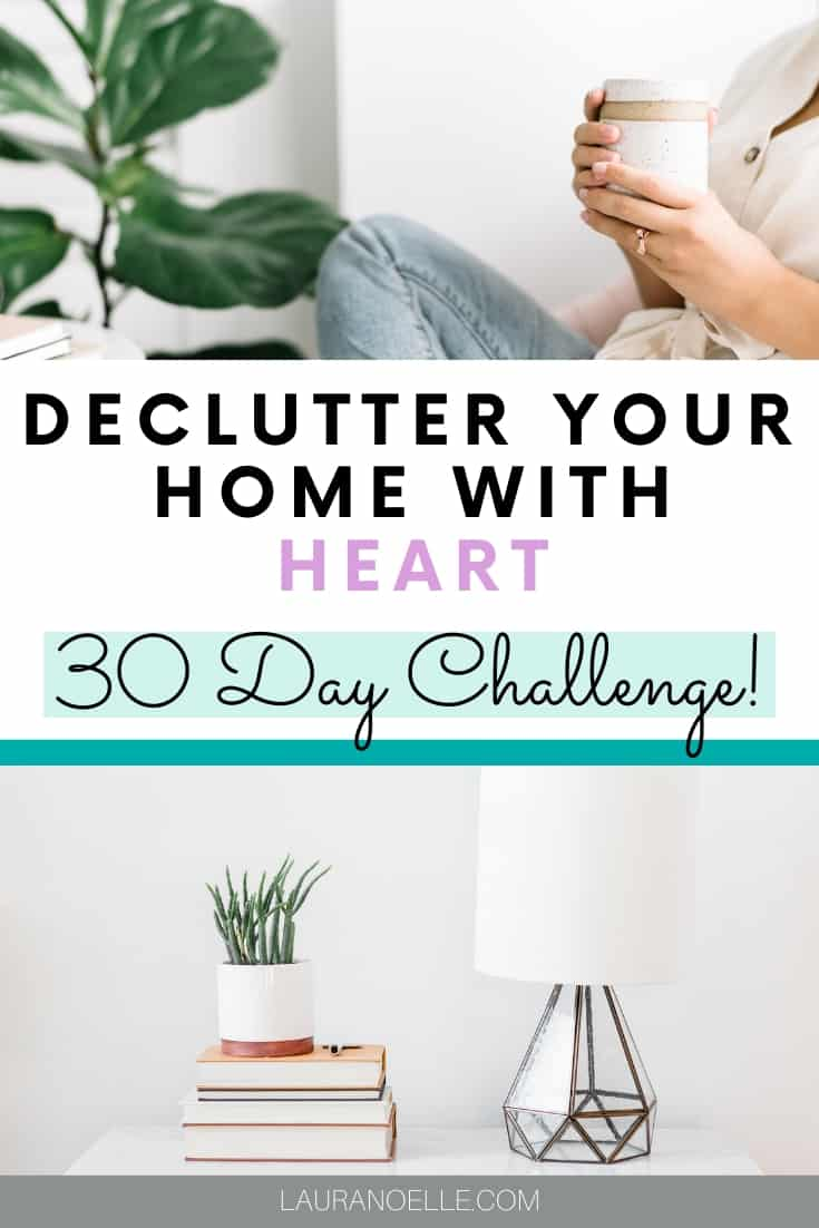 declutter your home with heart