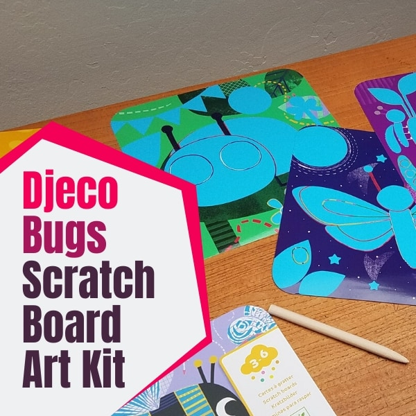 Djeco Bugs Scratch Art Kit Review