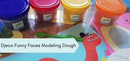 funny faces modeling dough
