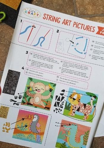 string art instructions