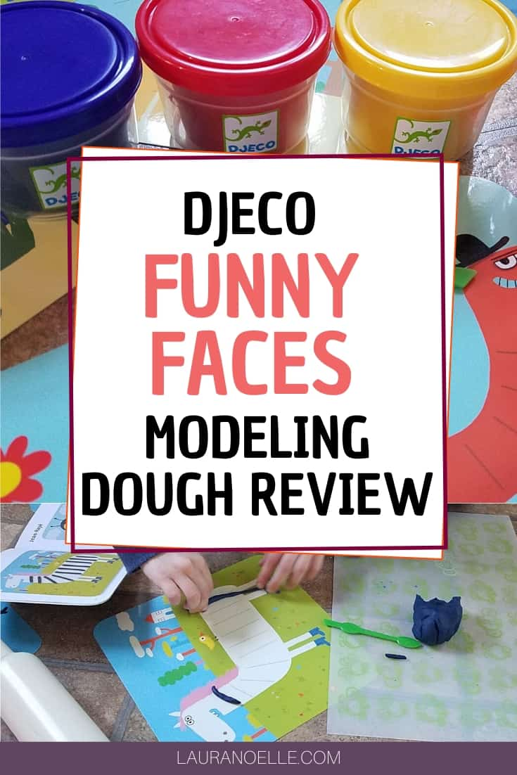 Modeling dough is a fun and creative way to help children practice fine motor skills and imaginative play. The Djeco Funny Faces kit is a hit for young children!