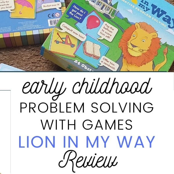 Engaging Problem Solving with Games || Lion in My Way Review