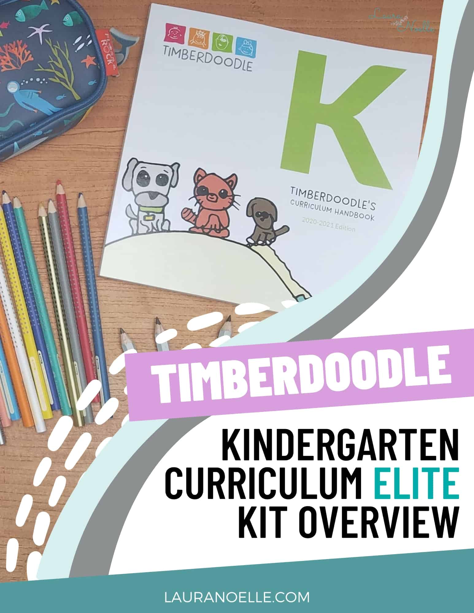 Look inside the new Timberdoodle Kindergarten Elite kit that has hands-on kids ready to learn!