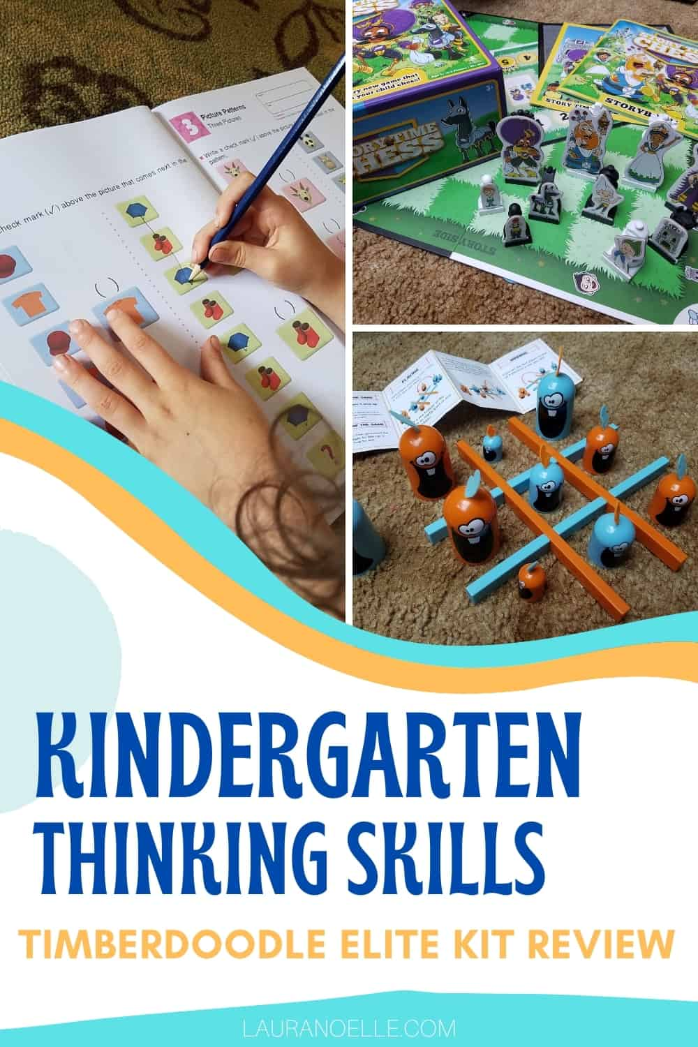Building strong minds takes practice, and Timberdoodle is known for putting the best tools together in their skill-focused education kits. Here's what we thought of the Kindergarten Thinking Skills materials.
