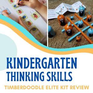 thinking skills for kindergarten
