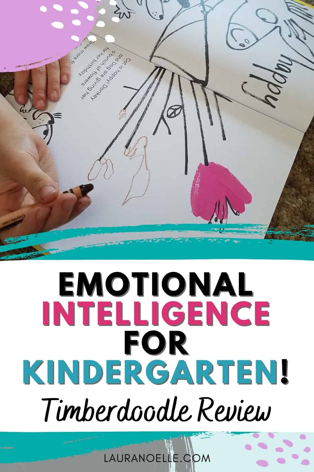 Big emotions are often more than young children can handle, and sometimes as parents, we get overwhelmed with it all too. Timberdoodle values emotional intelligence, and here's what we thought about the materials provided in the Kindergarten Elite Kit.
