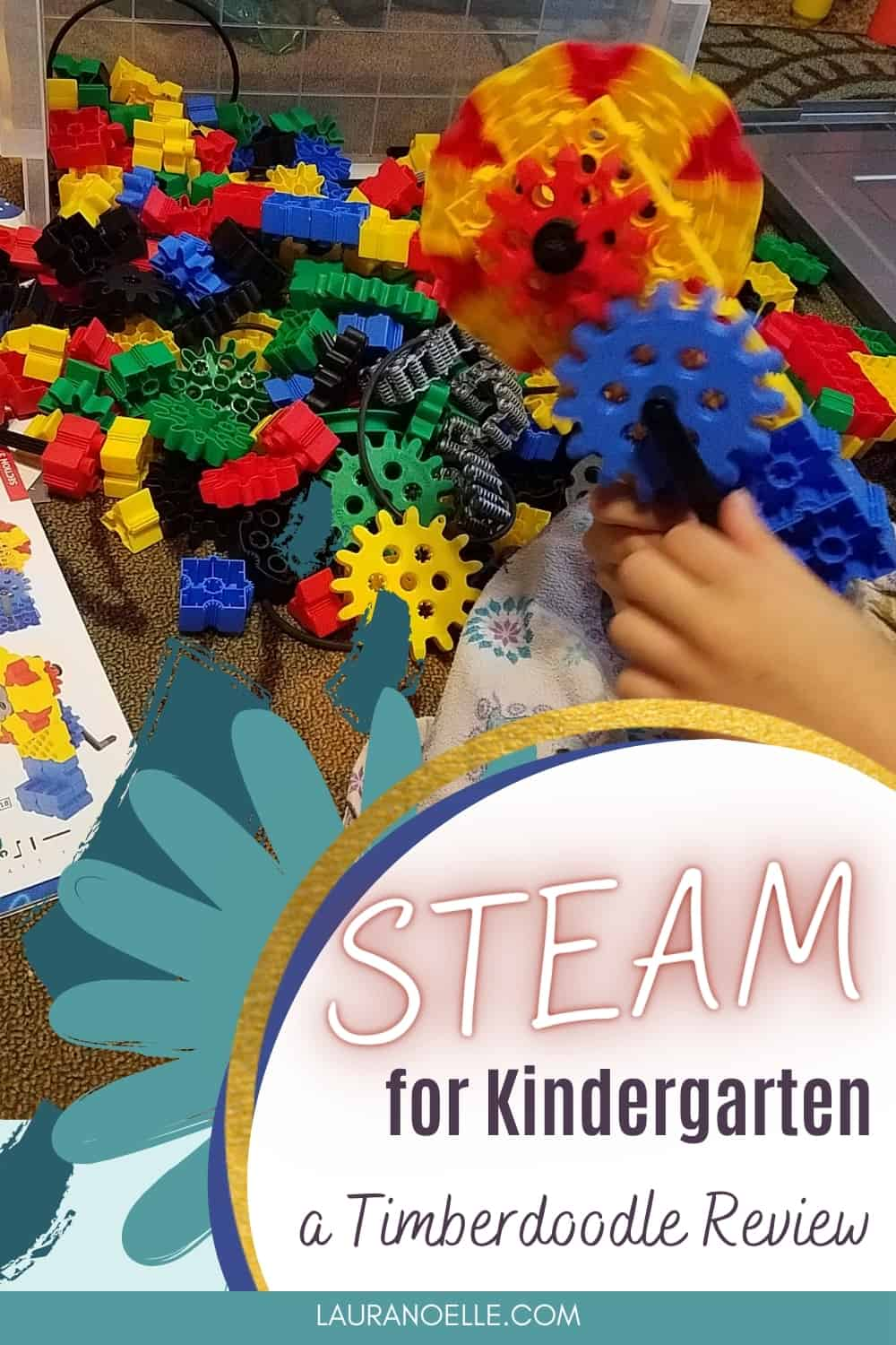 STEAM (science, technology, engineering, art, math) is a movement that's swept education in recent years, and here's what we thought of Timberdoodle's Kindergarten Kit.