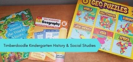 Timberdoodle Kindergarten History & Social Studies
