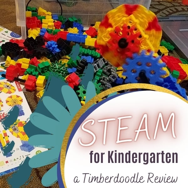STEAM for Kindergarten || Timberdoodle Elite Kit Review