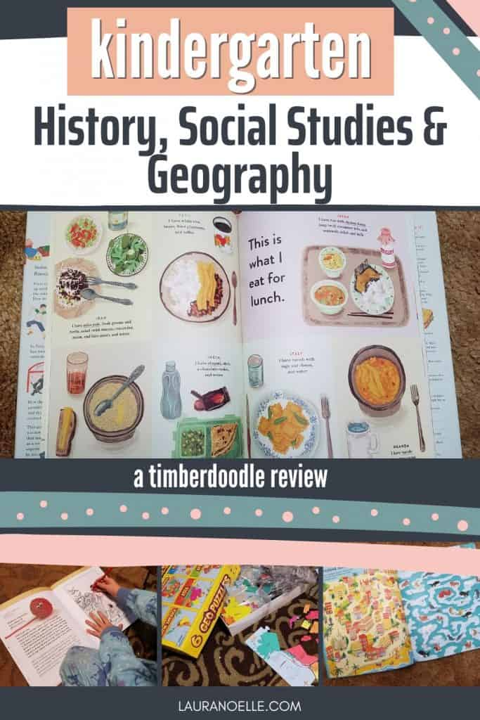 kindergarten history social studies and geography review