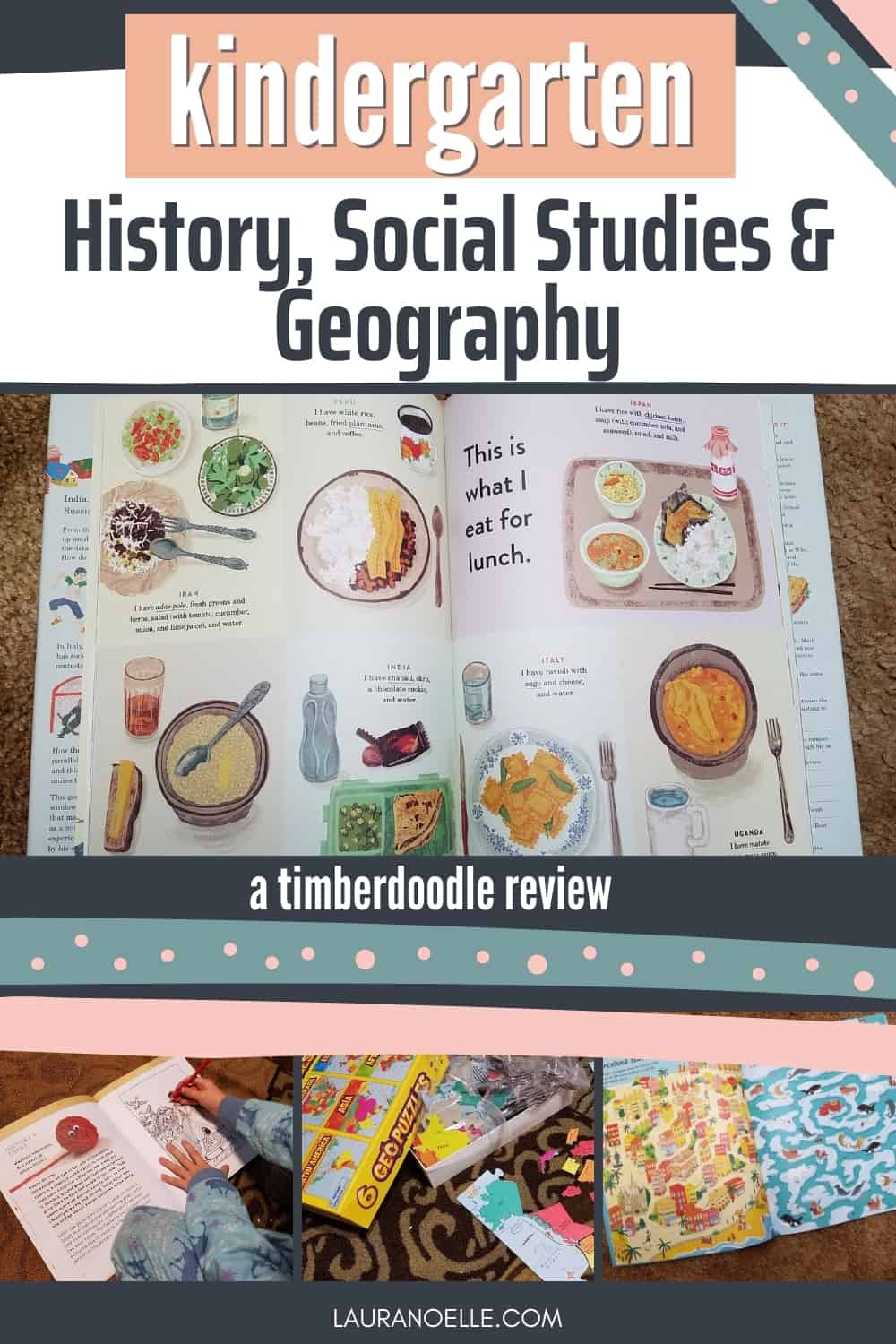 Young children are fascinated by the great big world around them and often amazed at the idea that so much of the world out there is different than what they see every day. Here's what we thought of Timberdood's materials introducing history and geography in their Kindergarten curriculum.