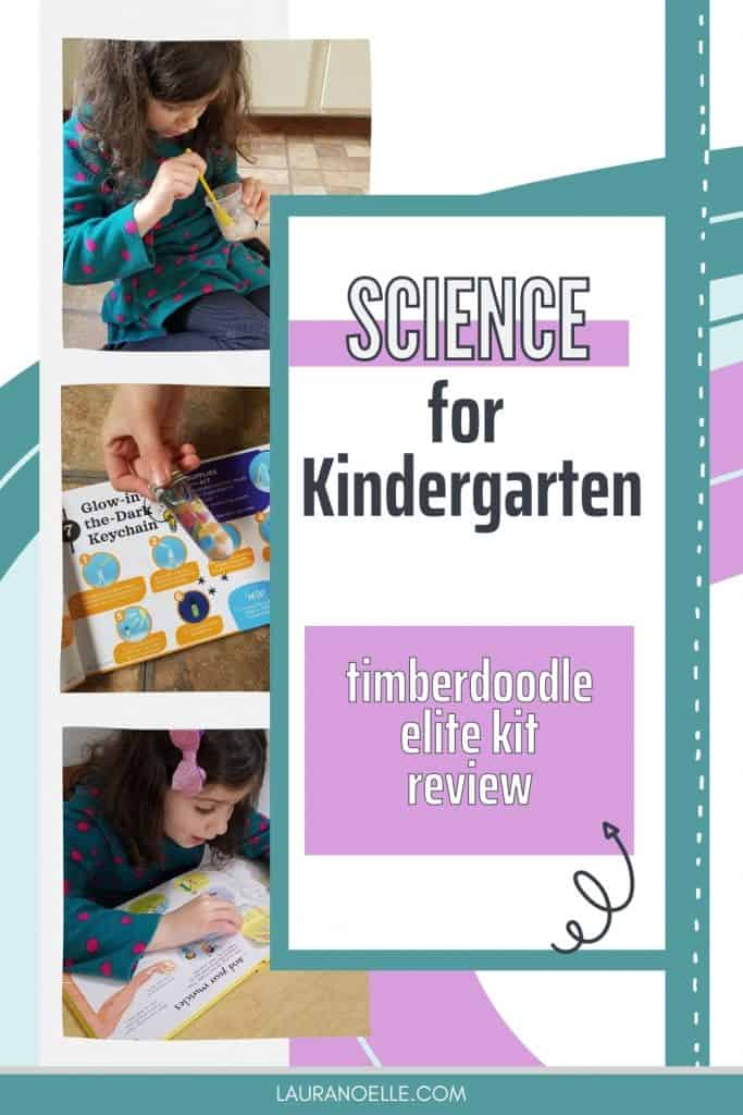 science for kindergarten