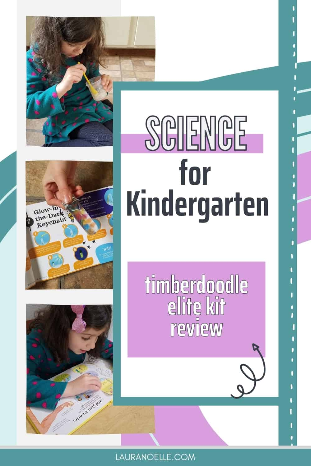 Science for little ones is hands-on with fun ways to learn the basics of life on earth. Here's what we think of Timberdoodle's Kindergarten science materials.